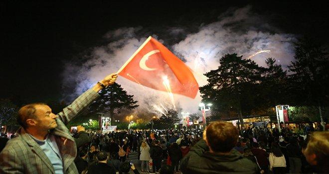 19 Mayıs Atatürk'ü Anma, Gençlik ve Spor Bayramı coşkuyla kutlandı...