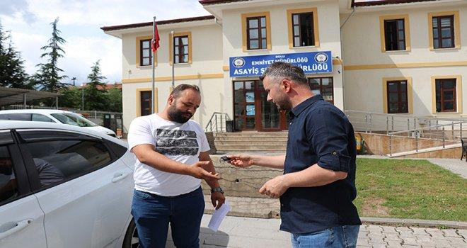 2 yıldır kayıp olan otomobil ikiz plaka uyarısıyla yakalandı