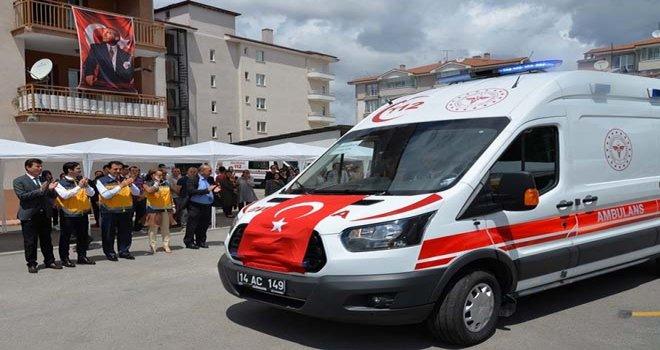 3 İlçeye Daha Ambulanslar Teslim Edildi