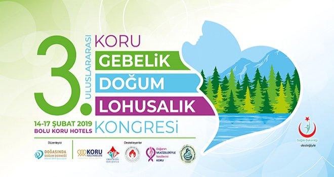 '3. Uluslararası Gebelik, Doğum ve Lohusalık Kongresi' Koru Hotel'de düzenlenecek
