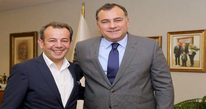 Başkan Özcan Taşdelen'i ziyaret etti