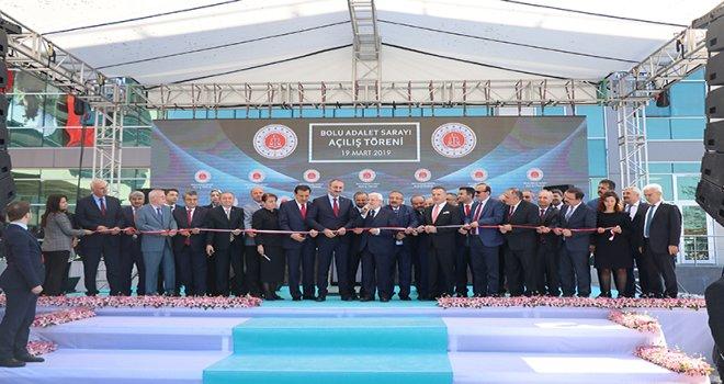 Bolu Adalet Sarayı, Bakan Gül'ün katılımıyla açıldı