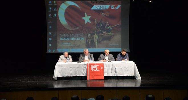 """Bolu'da """"15 Temmuz Demokrasi ve Milli Birlik Günü"""" Konferansı Yapıldı"""